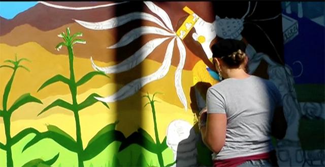 VIDEO: Meet the Young Women Who Make Murals