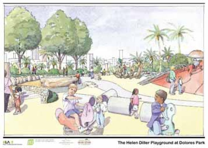 Board of Supervisors to accept Dolores Park Playground Renovation Funds