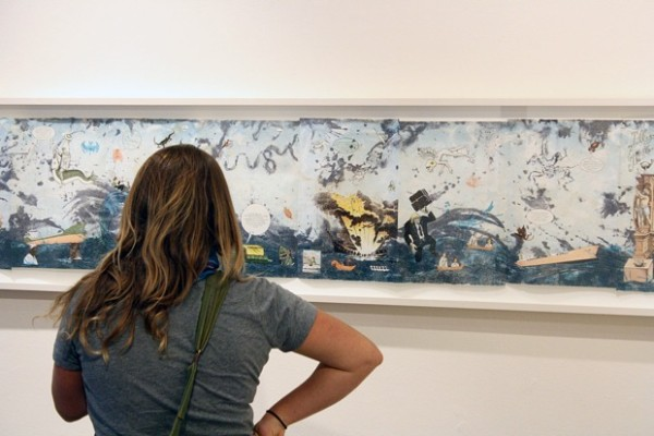 Jessica Arnett thinks Enrique Chagoya's art is thought provoking