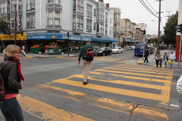 Seguridad Peatonal Permanece Siendo un Problema en San Francisco y el Distrito de la Misión