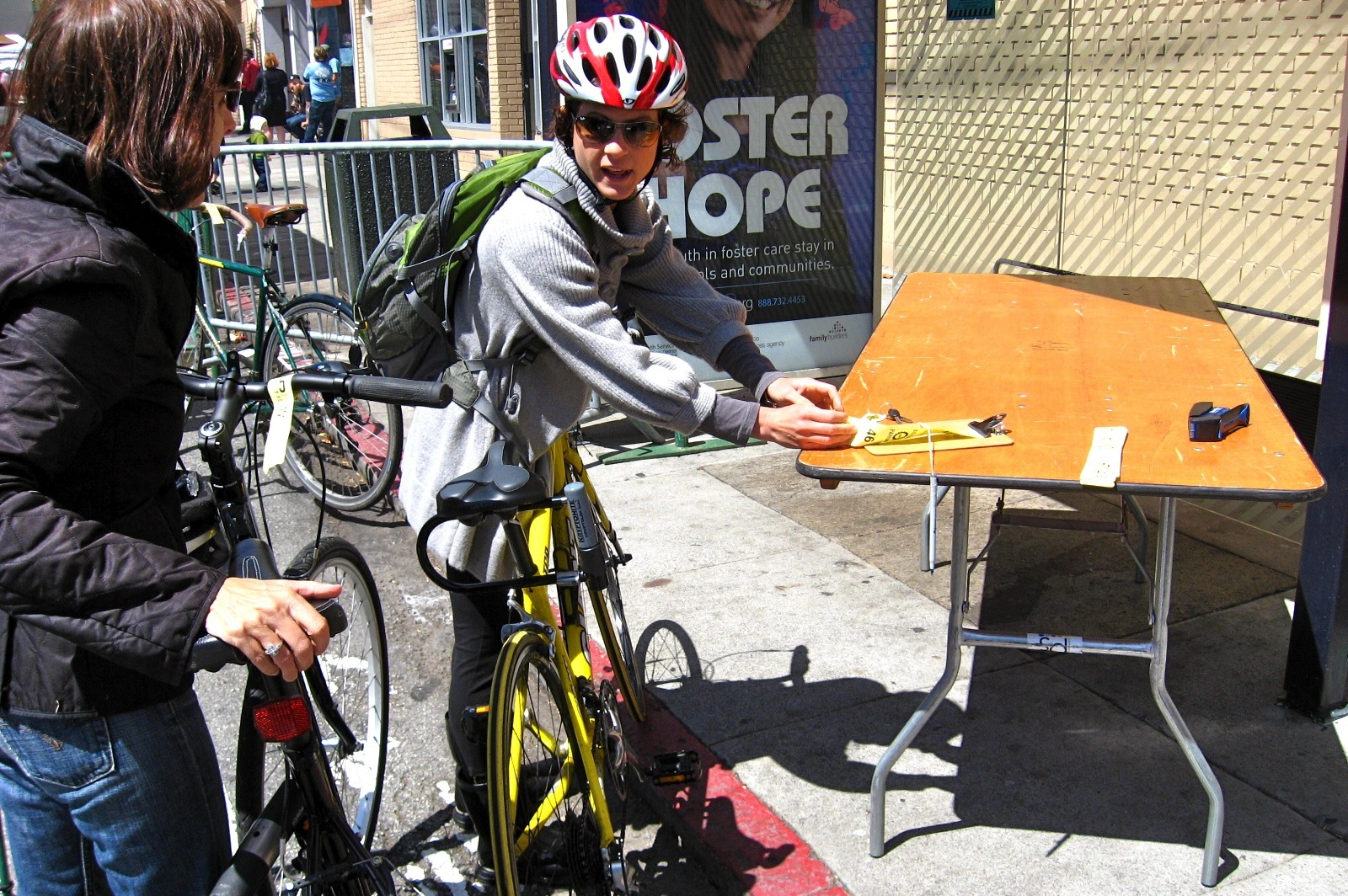 Bike Valets — the Latest San Francisco Service Industry