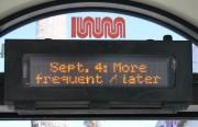 Restoration takes effect on September 4
