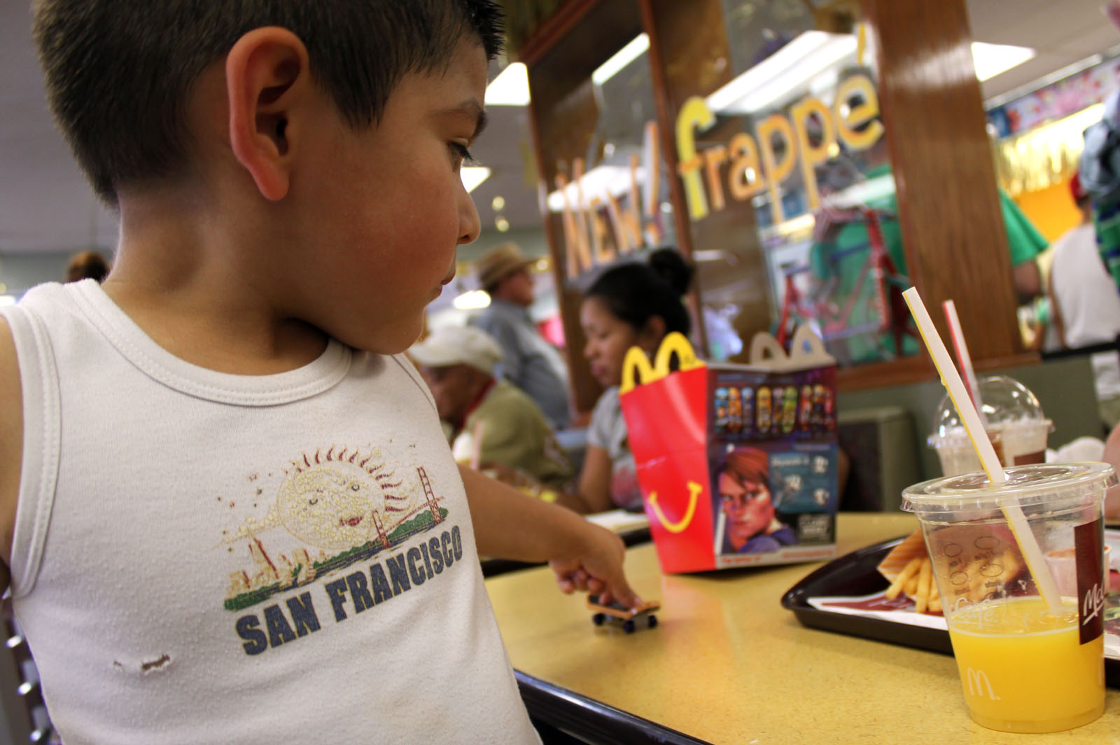 Happy Meal? The Toy's the Draw, Say Mission Parents