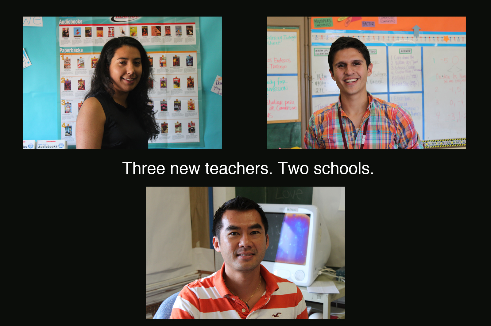 New Faces in Mission Schools