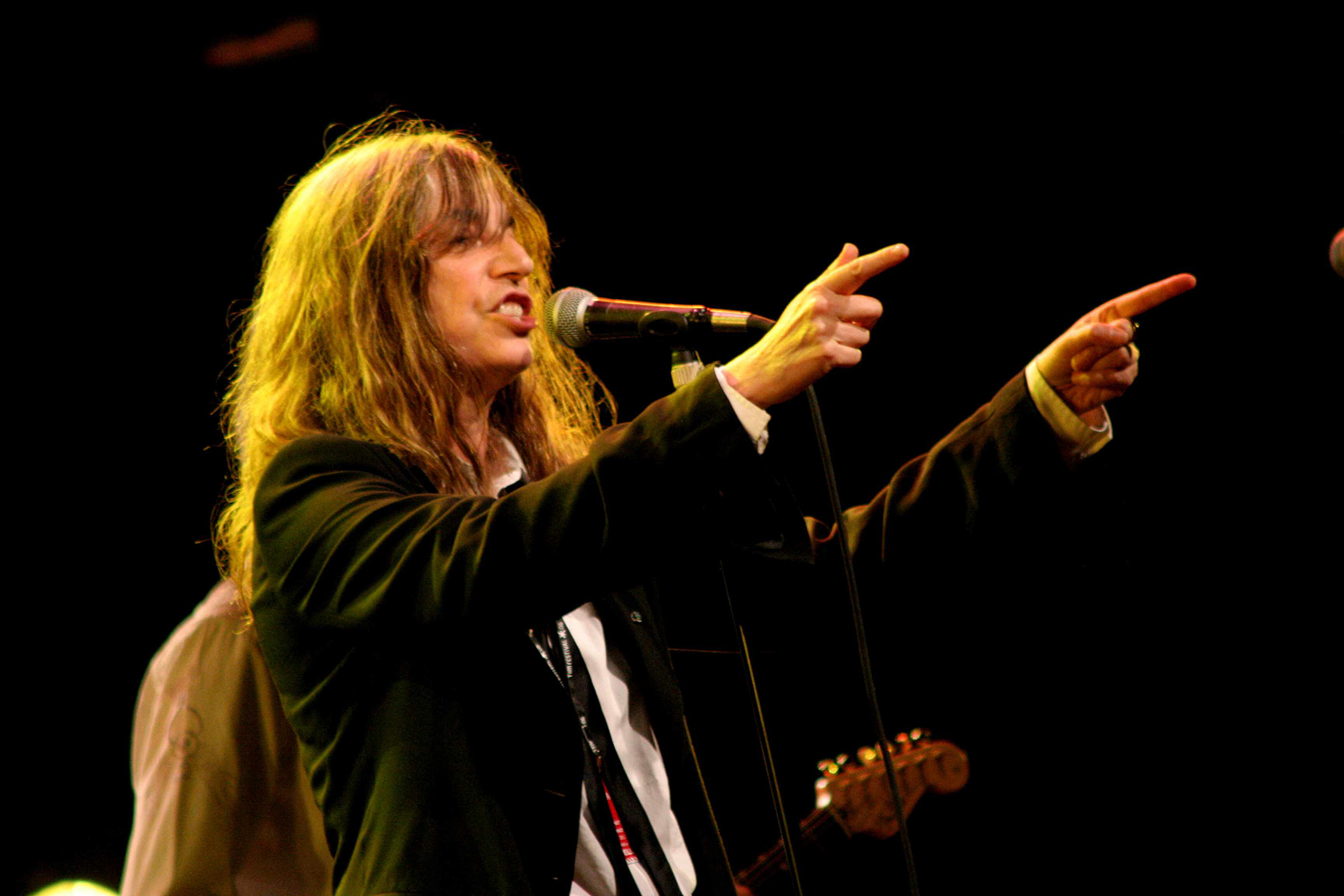 Patti Smith Spotted at Philz