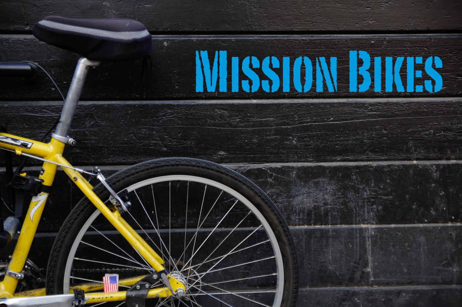 Mission Bike Portraits