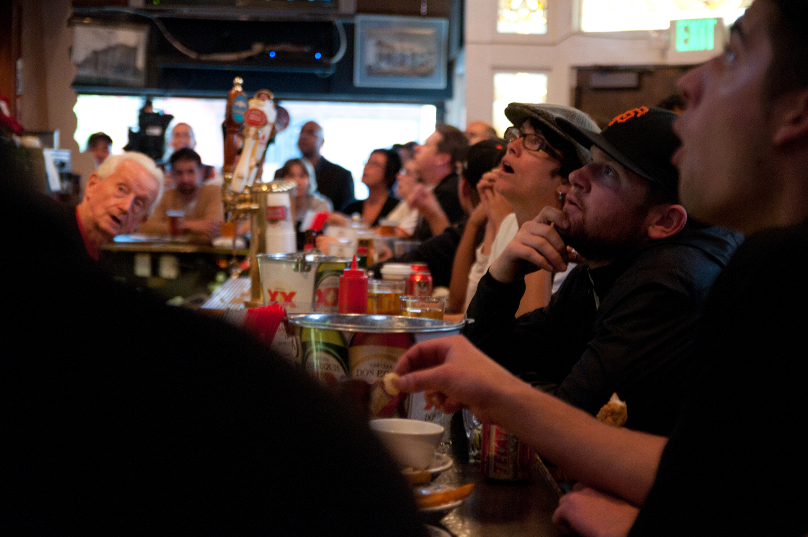 Game 1: Mission District Bars Watch the World Series