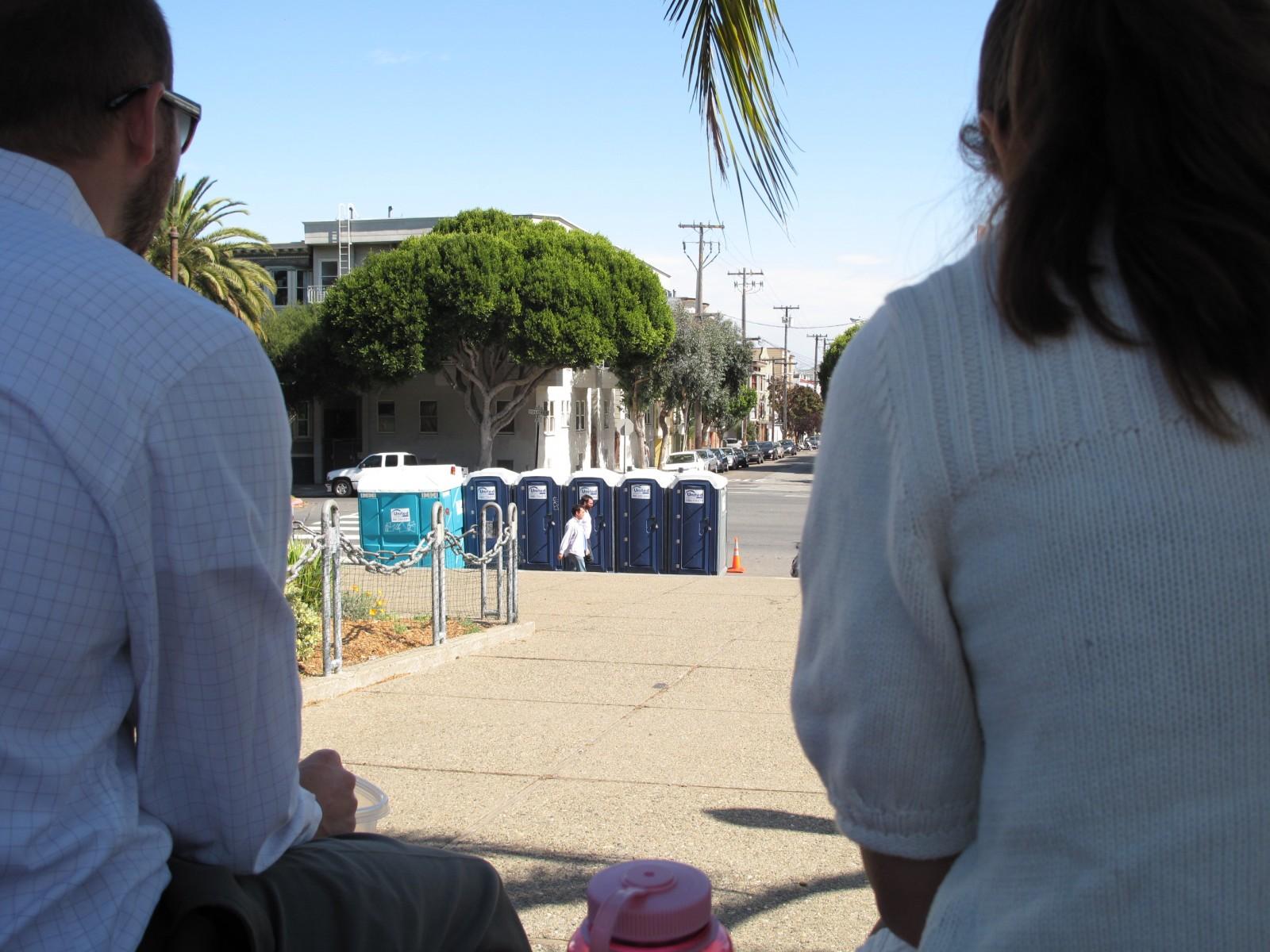 Will Porta-Potties Stop Pee Pushups at Dolores Park?