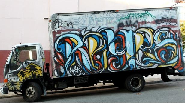Tagged Trucks — Art on Wheels or Urban Eyesore?