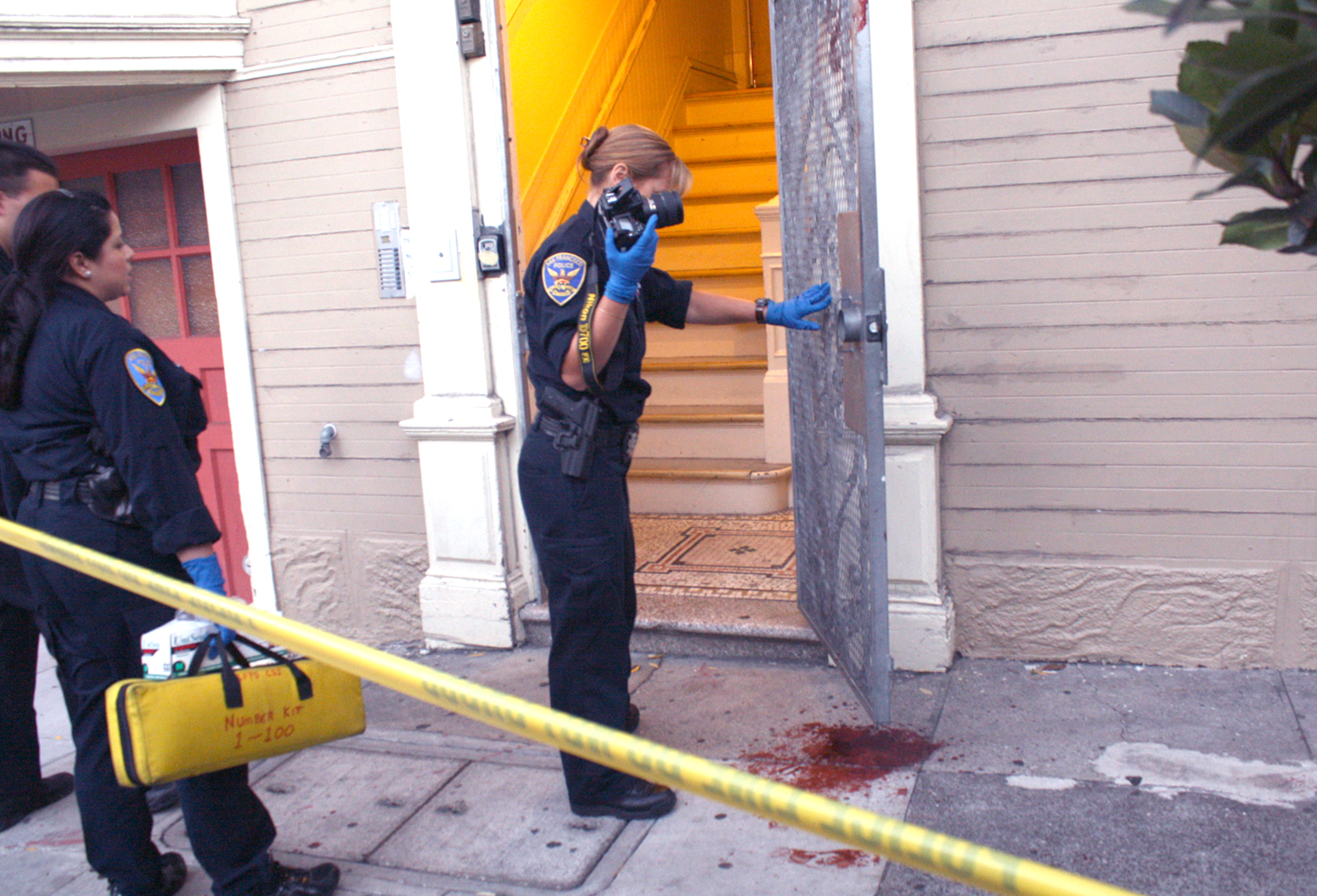 Stabbing on 18th and Capp