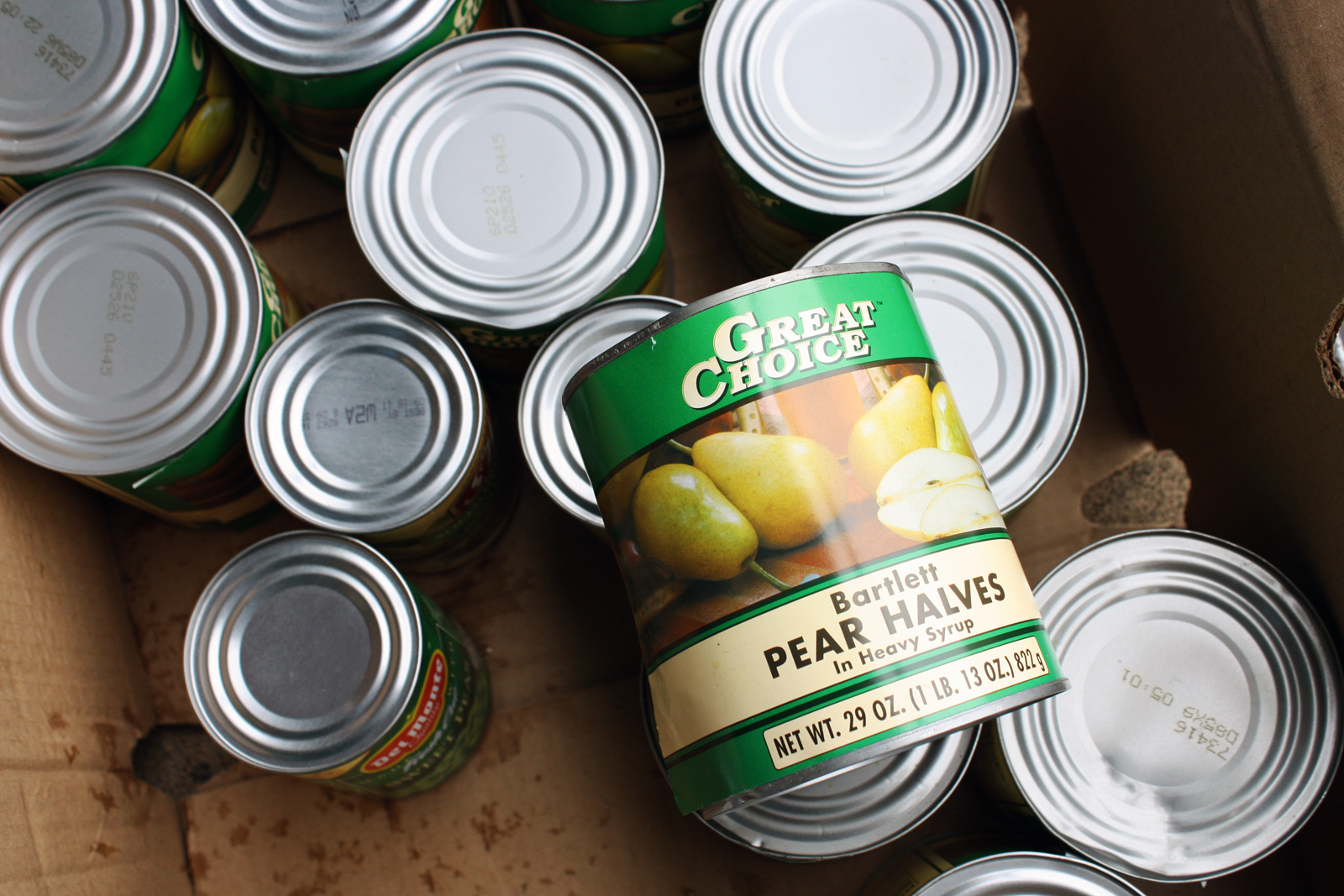 Two Food Banks, Two Lines