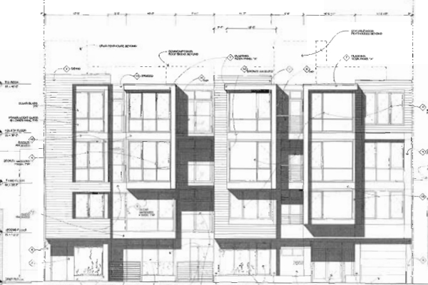 20 New Condos Proposed for Harrison Street