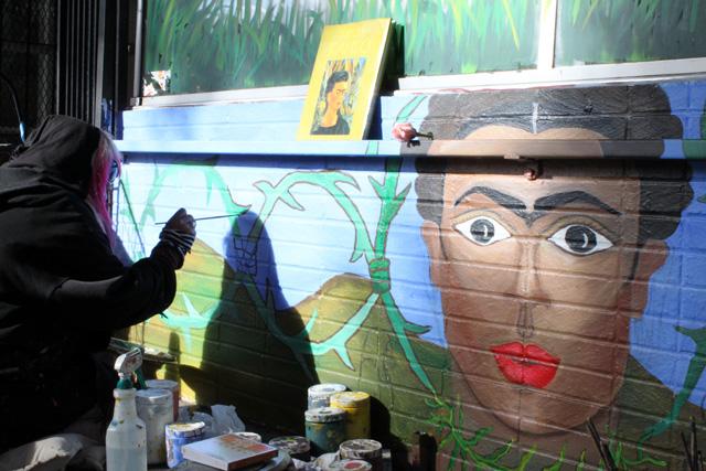 New Frida Mural on 24th Street