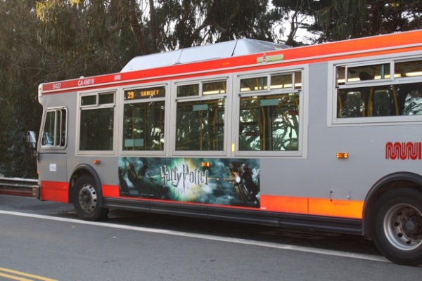 Ride the 67, Muni's steepest route, from the 24th street BART station to Bernal Heights at sunset for views of the city and Candlestick Park