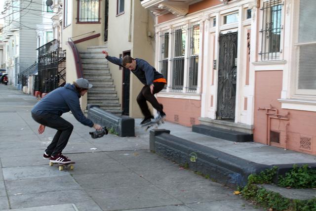 Making Skate Videos on Bryant Street