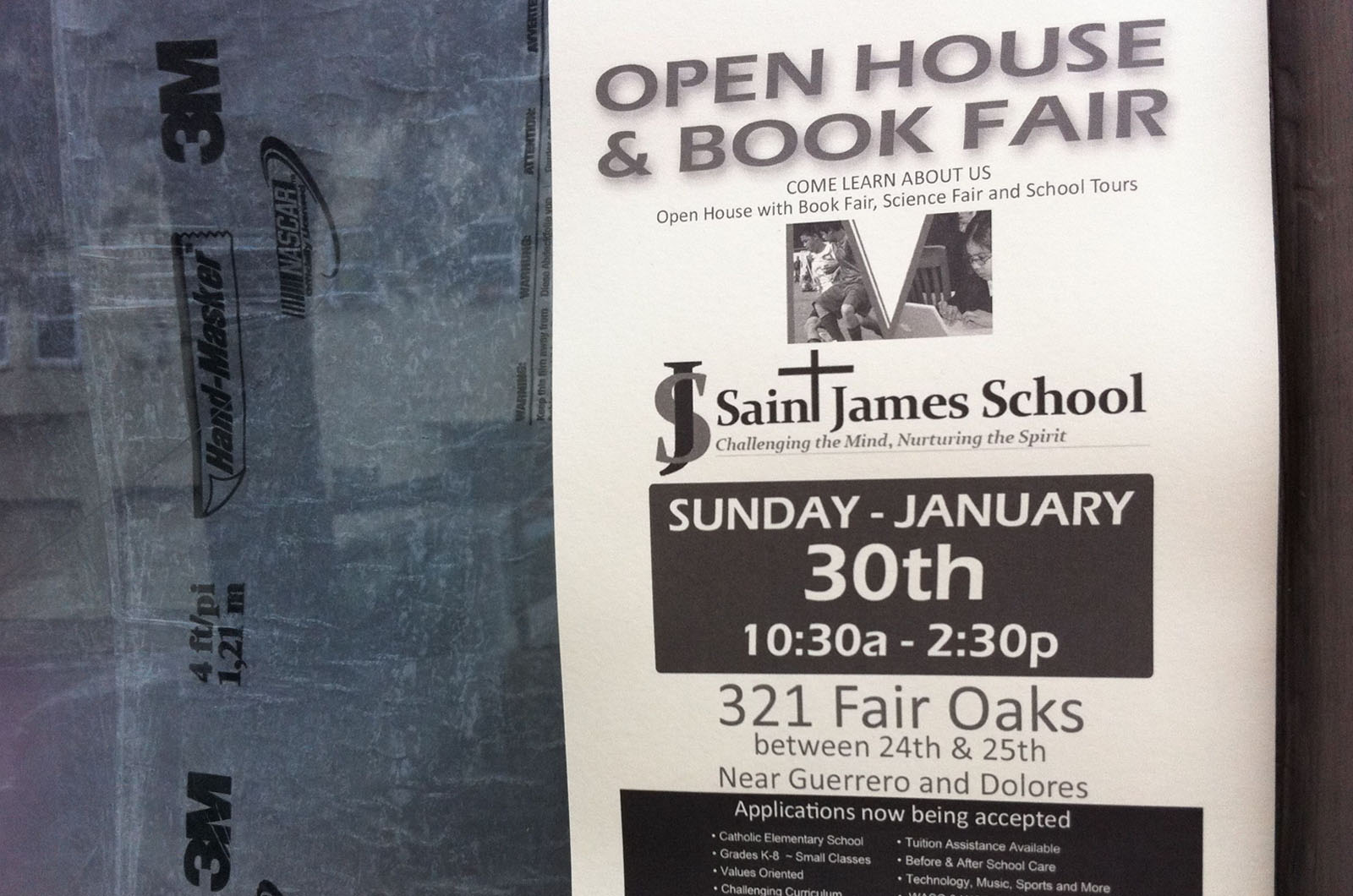 Book Fair at St. James Today