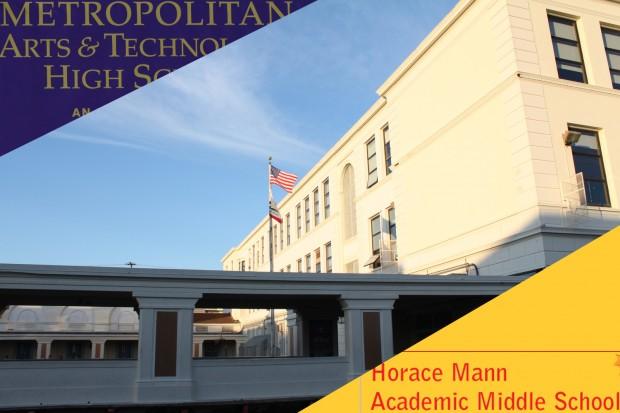 Un Sólo Edificio para Dos Escuelas