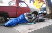 Sleeping on 18th Street.  Don't wake me up.