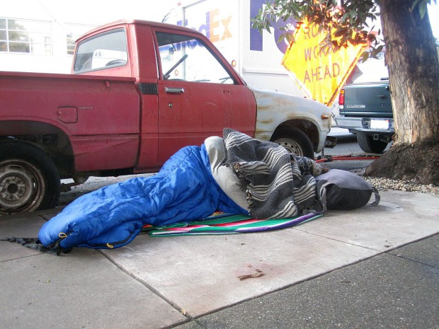 Sleeping on 18th Street.  Don't wake me up.