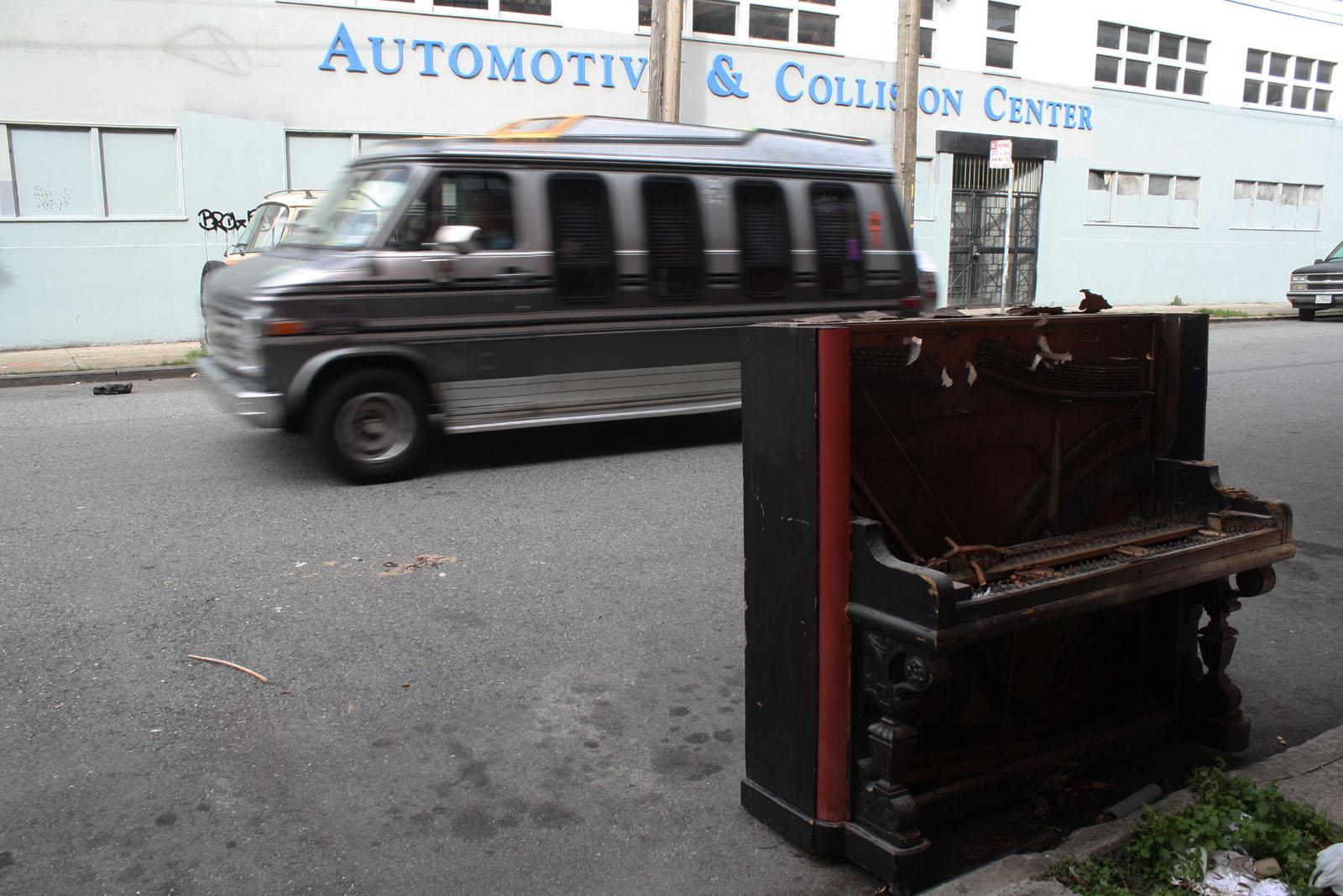 Free Piano on Treat Street