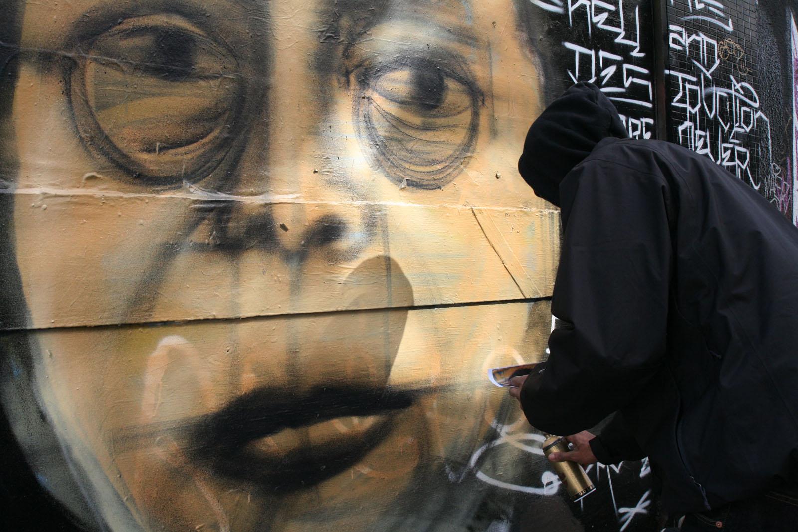 Pico Sanchez Mural on Clarion Alley
