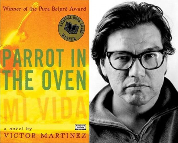 Victor parrot in the oven