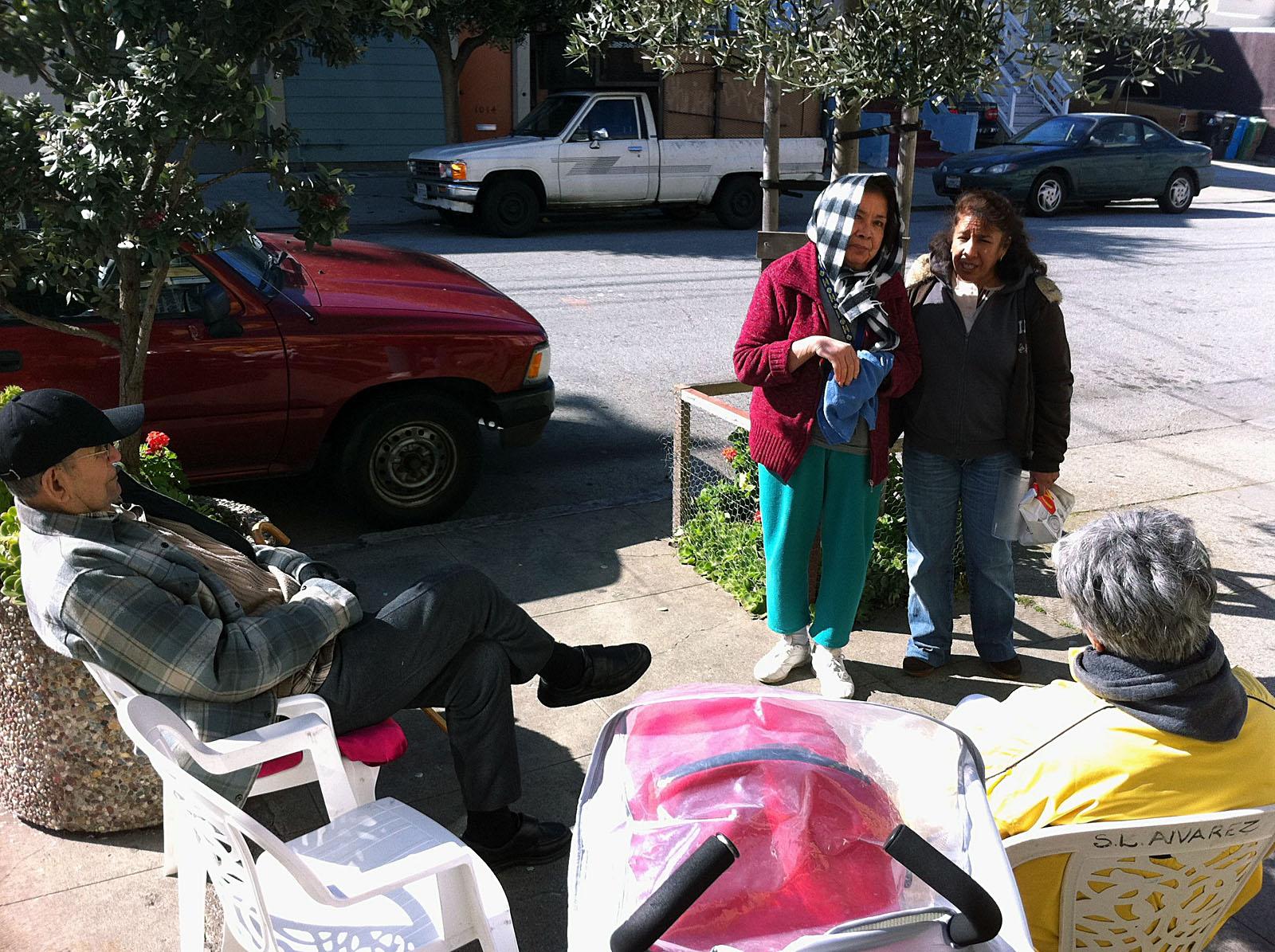 Visiting on Alabama Street