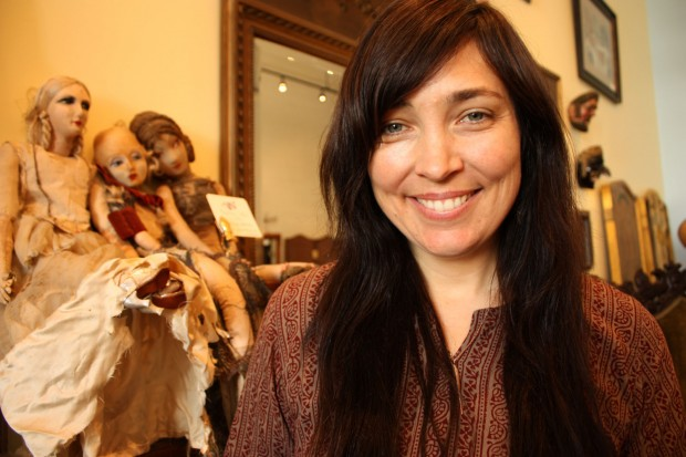 Gypsy Honeymoon's owner, Gabrielle Ekedal, says being on Valencia Street has put her in the public eye.