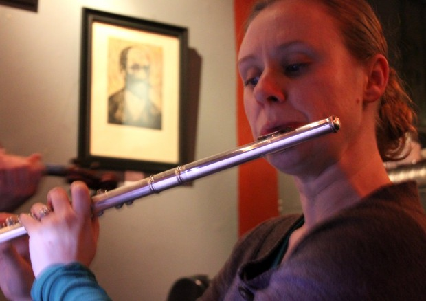 Abby Mckee performs with Classical Revolution on March 21st at Revolution Cafe