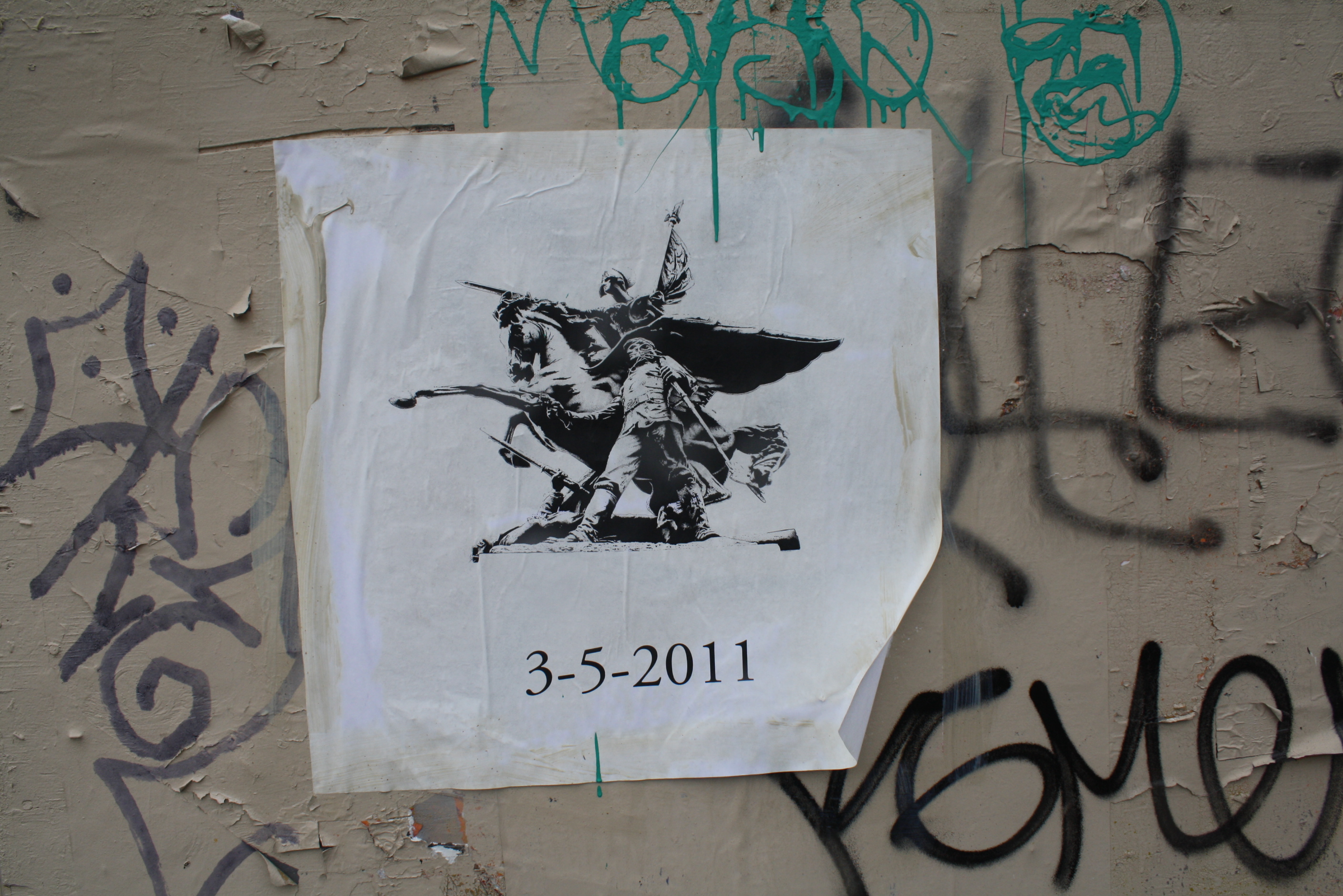 ID This Mystery Wheatpaste and Win a Prize