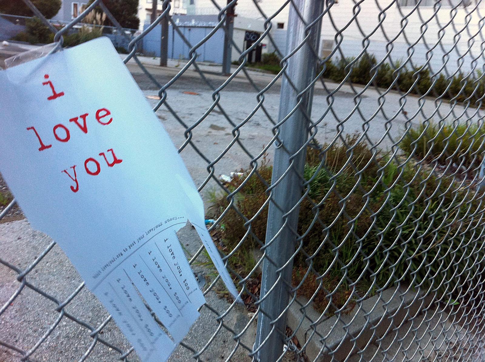 I Love You.  Really?