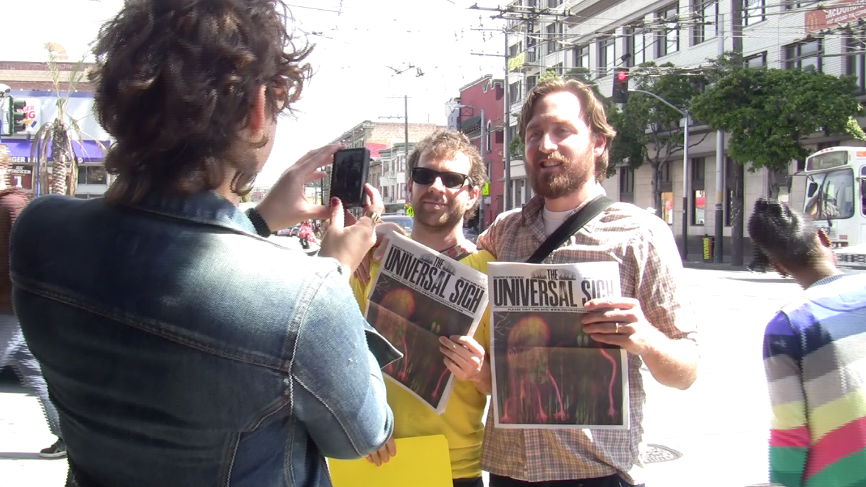 Extra! Extra! Radiohead Hypes New Album with a Newspaper