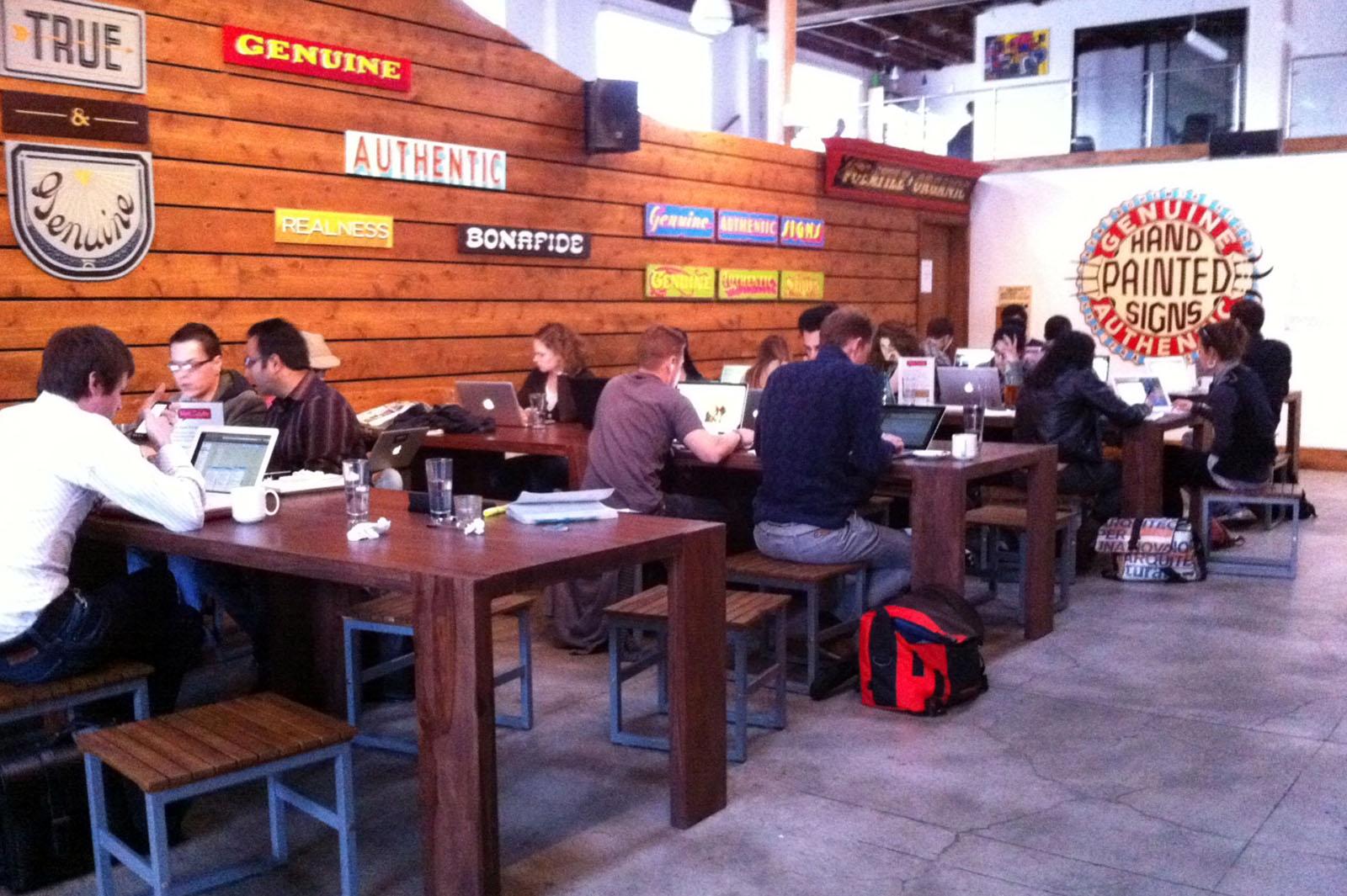 Coffee Break @ the Summit. Genuine. Really.