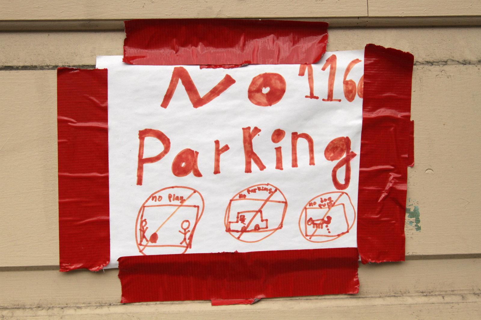 Florida Street Rules: No Play, No Parking, No Pupu