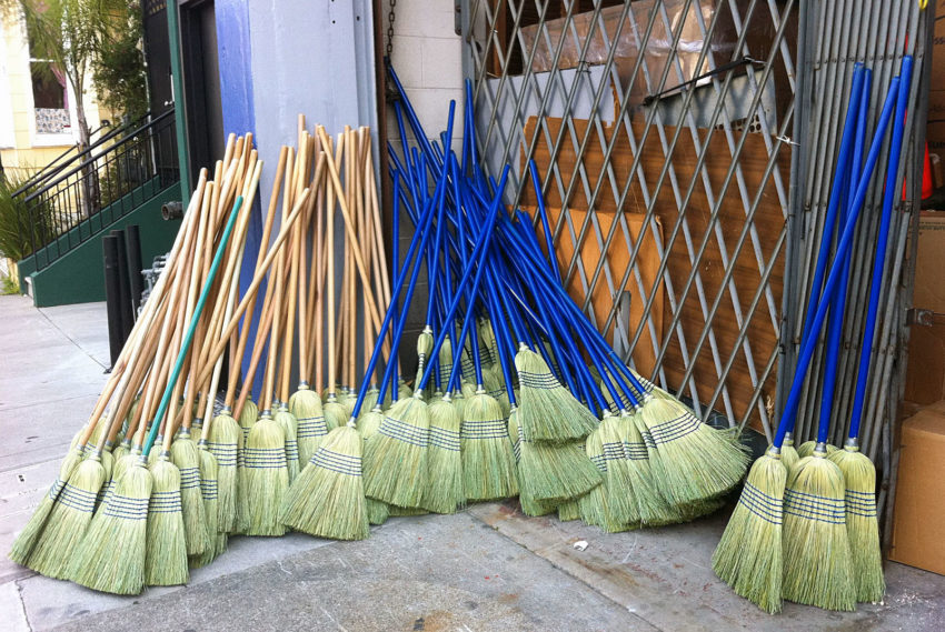 Brooms on Bartlett