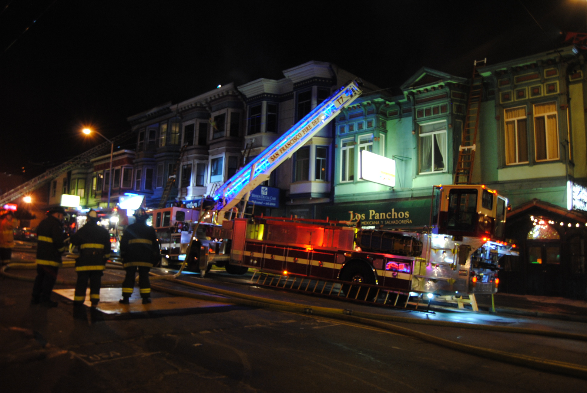 Large Fire on Mission Leaves Residents Homeless