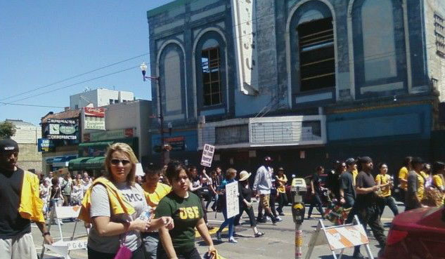 Walk Against Rape -Now  – @23rd and Mission