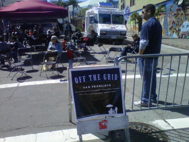 Off the Grid Food Fest Going on Now Till 9 p.m.