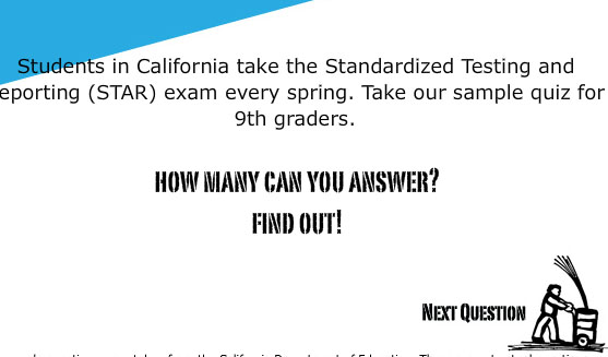 Are You Smarter Than a Ninth Grader?