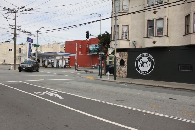 Another photo of the bike lane. Photo Credit: Lissette Alvarez