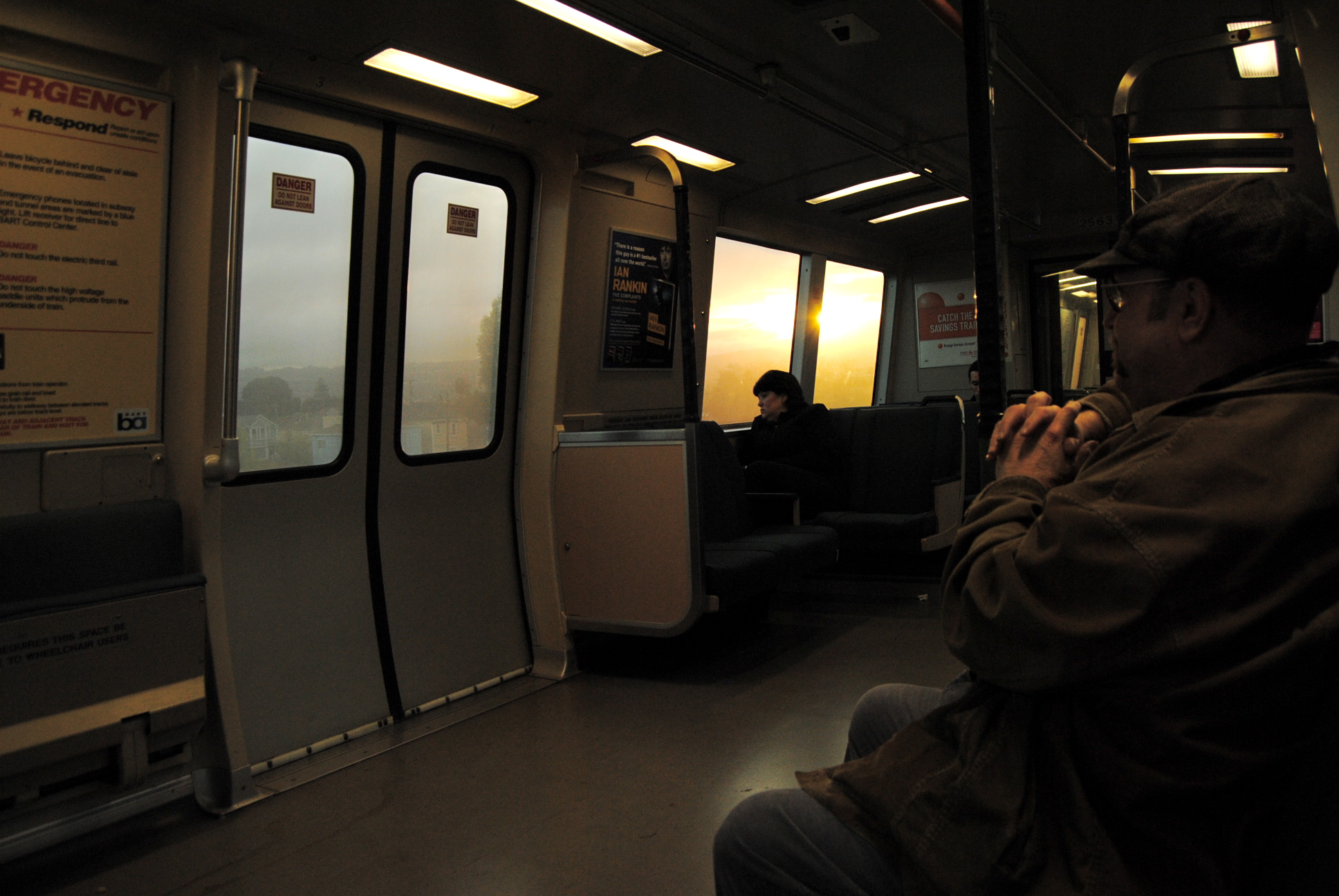 Portrait of a City: Riding BART All Day