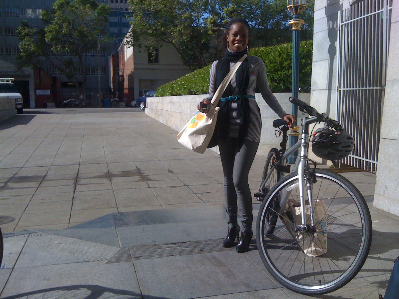 Heels on Wheels for Bike to Work Day