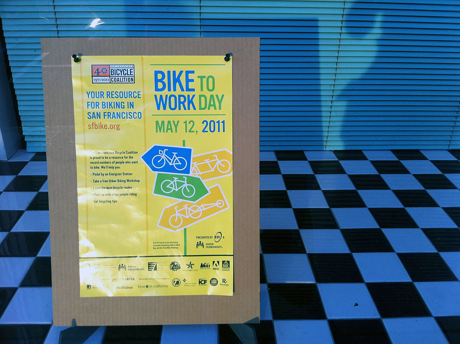 Reminder: Bike to Work Next Thursday