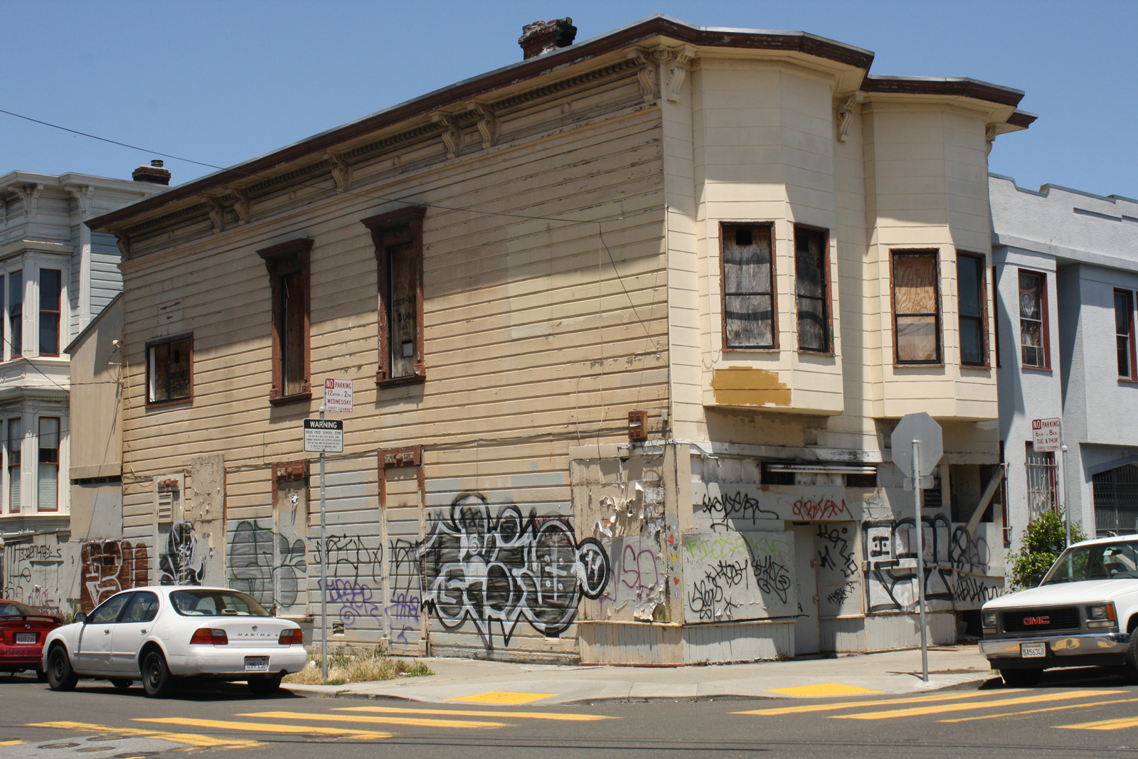 Nearly a Decade and Two Ordinances Later, a Blighted Building Remains