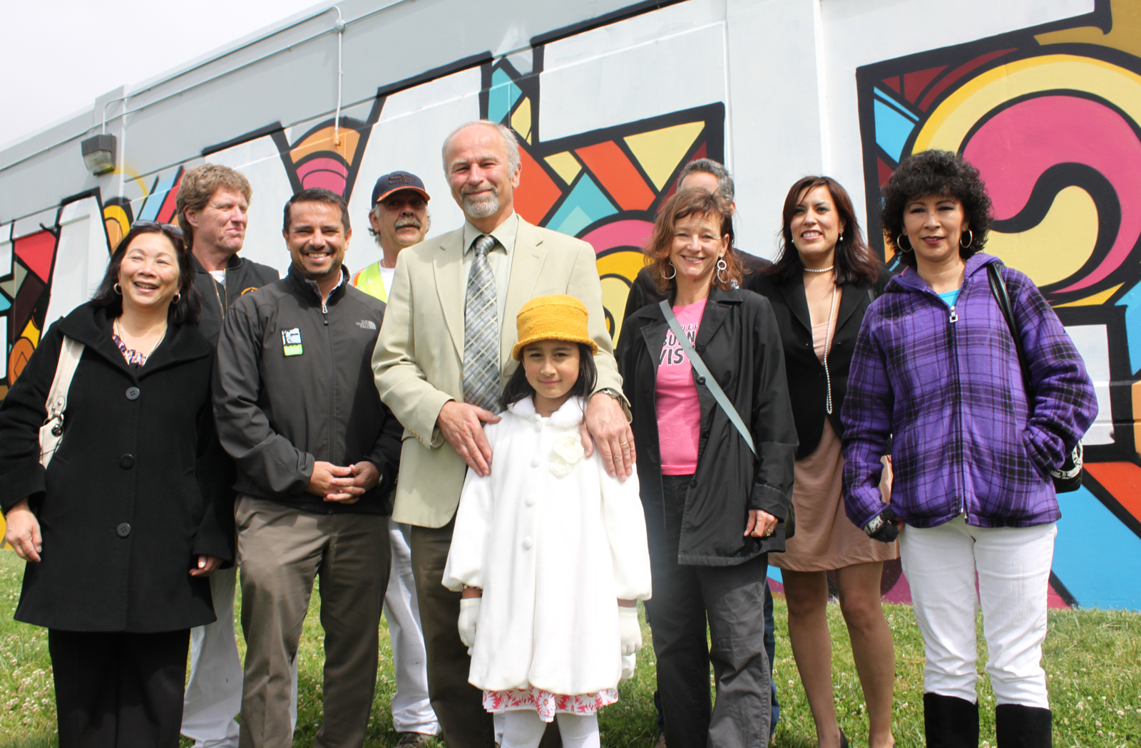 "The Unveiling of ""Familia"" Mural"