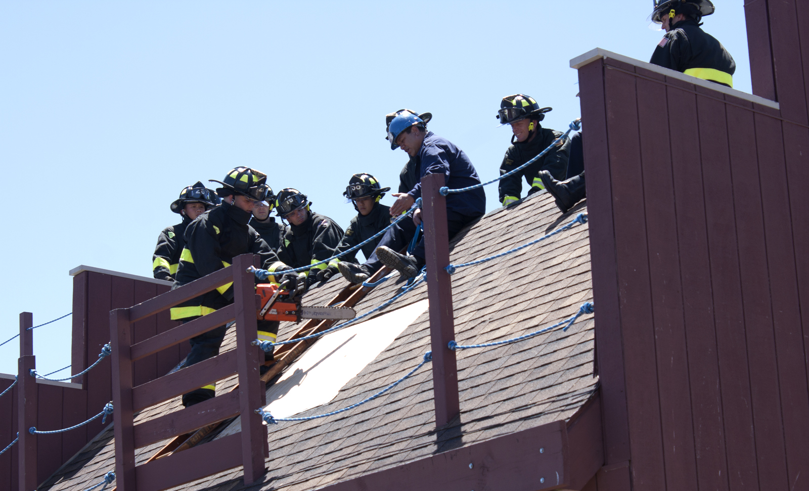 Training Day at the Firehouse