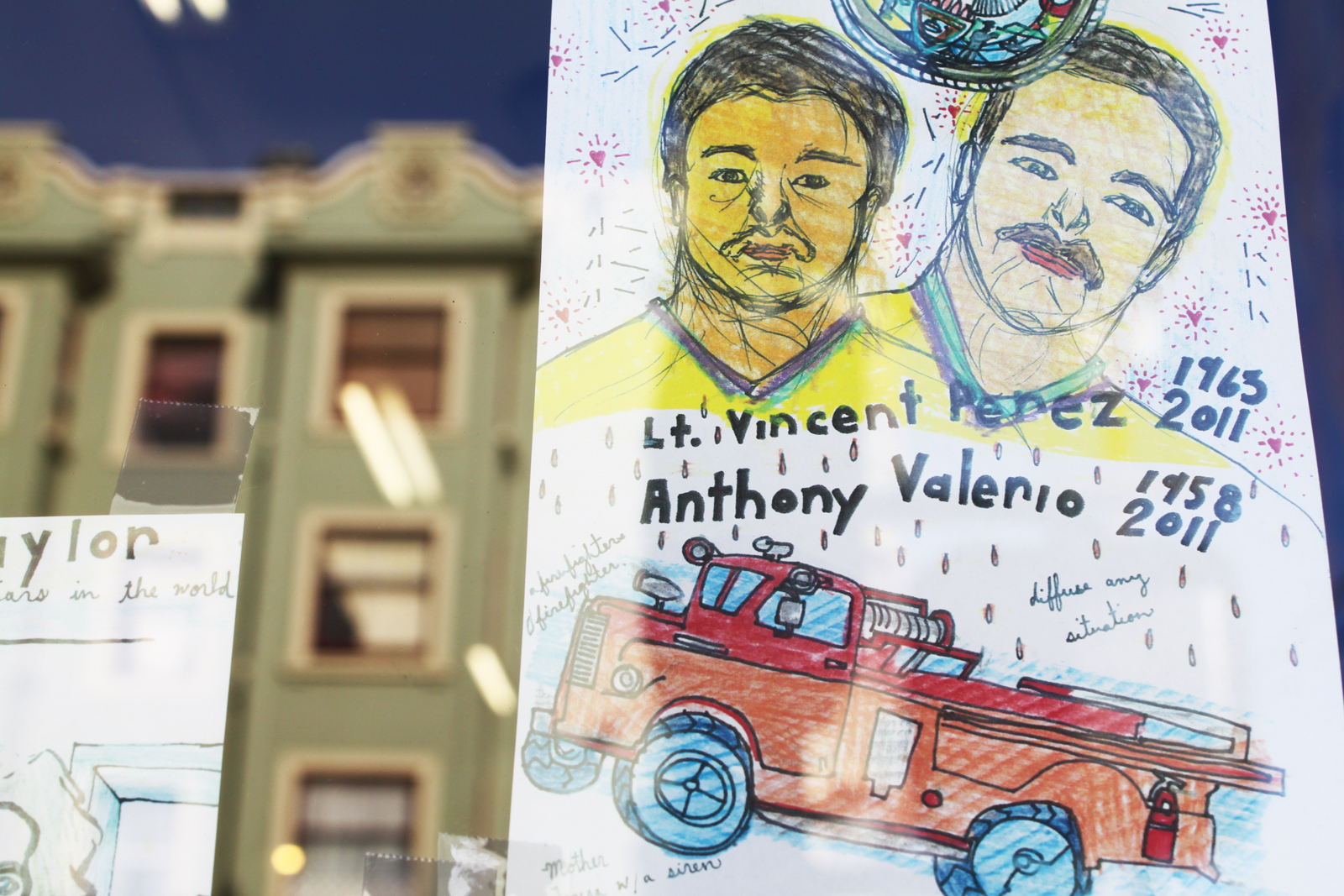 Vincent Perez and Anthony Valerio, Remembered