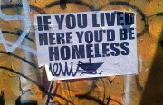 San Francisco has one of the biggest homelessness problems in the country, with a homelessness ratio of 1 in 254 according to Project HOME, compared to 1 in 2,555 for New York and 1 in 1,661 for Chicago. Photo by Hélène Goupil.