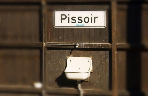 This is a pissoir. Photograph by Diskostu [Flickr].