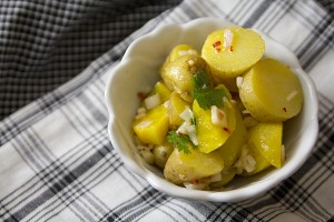 Spicy Vegan Potato Salad